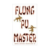 Flung Poo Master Decal
