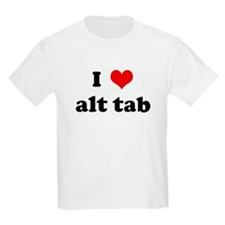 I Love alt tab T-Shirt