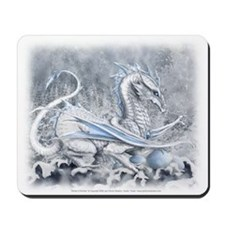 White Dragon Mousepad