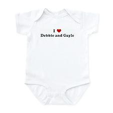 I Love Debbie and Gayle Infant Bodysuit
