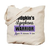 Hodgkin's Lymphoma Warrior Tote Bag