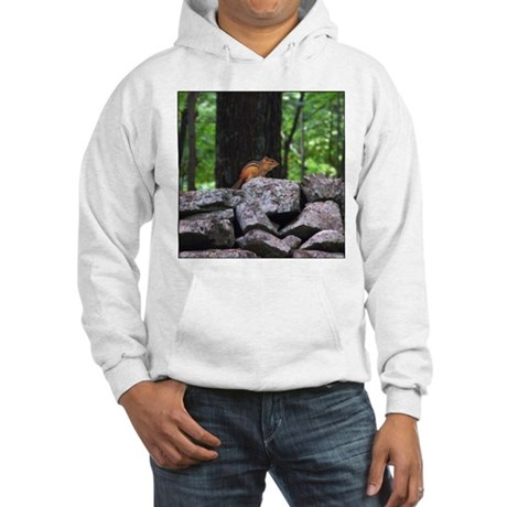 Cute Chipmunk Hooded Sweatshirt