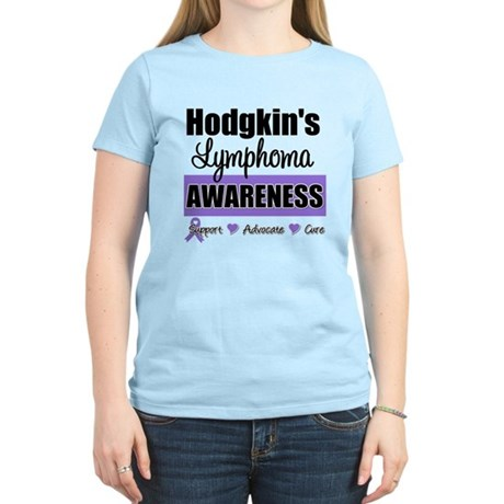Hodgkin's Lymphoma Awareness Women's Light T-Shirt