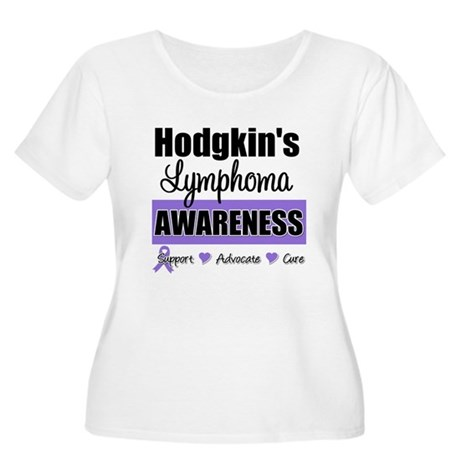 Hodgkin's Lymphoma Awareness Women's Plus Size Sco