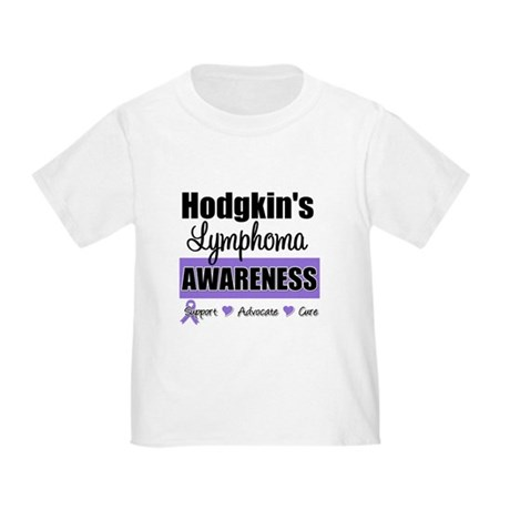 Hodgkin's Lymphoma Awareness Toddler T-Shir