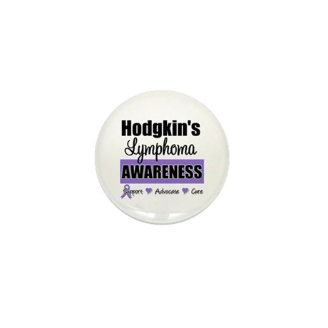 Hodgkin's Lymphoma Awareness Mini Button