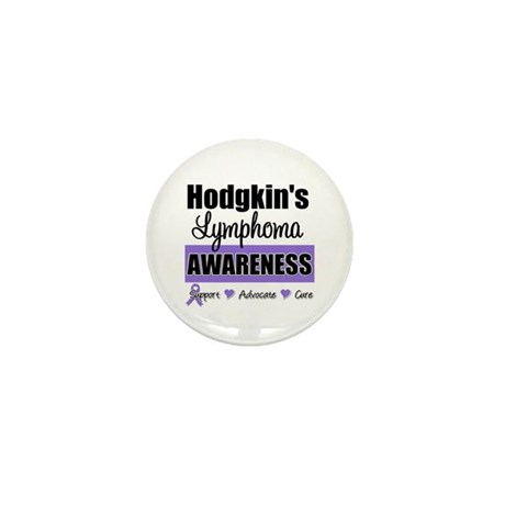 Hodgkin's Lymphoma Awareness Mini Button (10 pack)