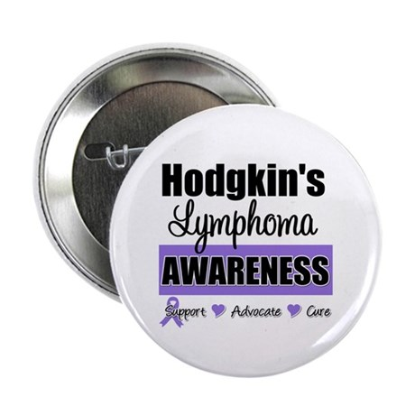 Hodgkin's Lymphoma Awareness 2.25&quot; Button (100 pac