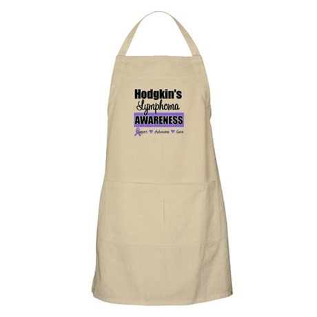 Hodgkin's Lymphoma Awareness BBQ Apron