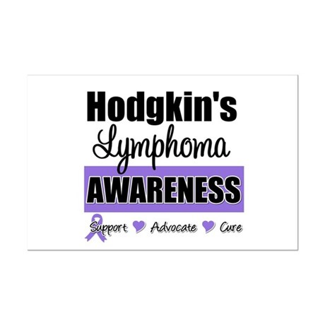 Hodgkin's Lymphoma Awareness Mini Poster Print