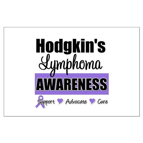 Hodgkin's Lymphoma Awareness Large Poster