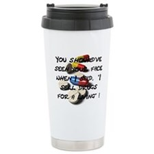 Seen Your Face Travel Mug