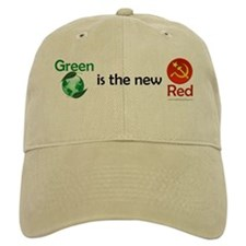 Green is the new Red Baseball Cap