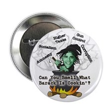 """Barack is Cookin' 2.25"""" Button (100 pack)"""