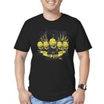 The Pawn Men's Fitted T-Shirt (dark)