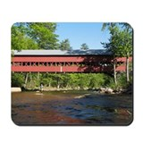 Swift River Covered Bridge Mousepad
