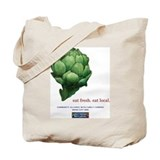 Eat Fresh Artichoke Tote Bag