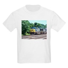 CSX Q190 Doublestack Train Kids T-Shirt