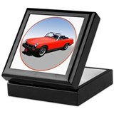 Unique Automobiles Keepsake Box