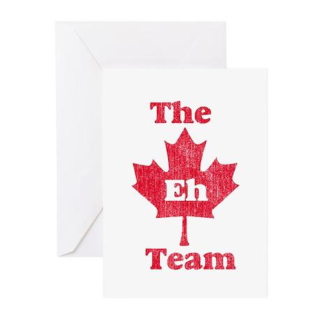 Vintage Team Eh Greeting Cards (Pk of 10)