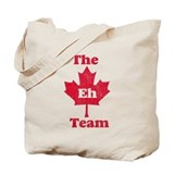 Vintage Team Eh Tote Bag