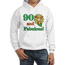 Fabulous 90th Birthday Hoodie