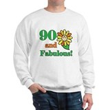 Fabulous 90th Birthday Sweatshirt
