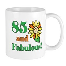 Fabulous 85th Birthday Small Mug