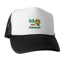 Fabulous 85th Birthday Cap