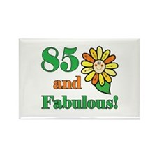 Fabulous 85th Birthday Rectangle Magnet (100 pack)