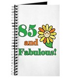 Fabulous 85th Birthday Journal