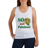 Fabulous 80th Birthday Women's Tank Top