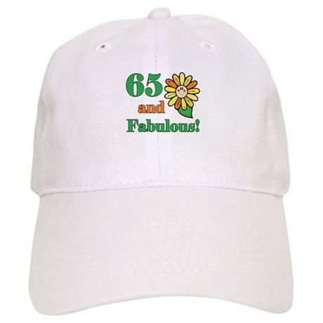 Fabulous 65th Birthday Cap
