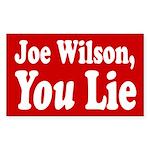 Joe Wilson, You Lie Bumper Sticker