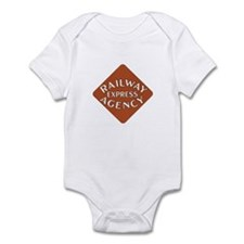 Railway Express Color Logo Infant Creeper