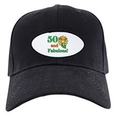 Fabulous 50th Birthday Baseball Hat