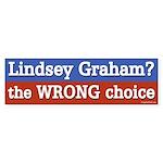 Lindsey Graham the Wrong Choice