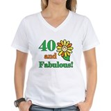 Fabulous 40th Birthday Shirt