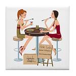 Seminole Sushi Girls Tile Coaster