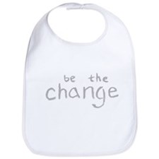 Be The Change (Silver) Bib