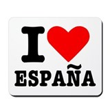 I love España - Spain Mousepad