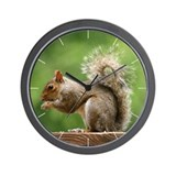 Classic Squirrel Wall Clock