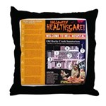 Halloween Hell Hospital Souvenir Throw Pillow
