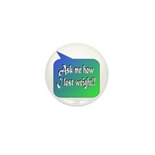 Ask Weight Mini Button (100 pack)