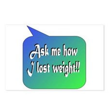 Ask Weight Postcards (Package of 8)