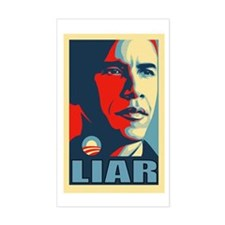 LIAR Rectangle Decal
