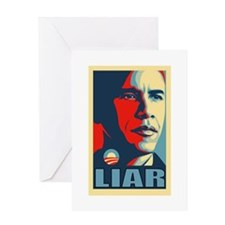 LIAR Greeting Card