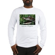 Long Sleeve T-Shirt - Caiman Alligator
