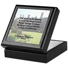 St Ignatius Retreat House Keepsake Box