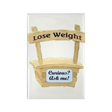 Weight Stand Rectangle Magnet (100 pack)
